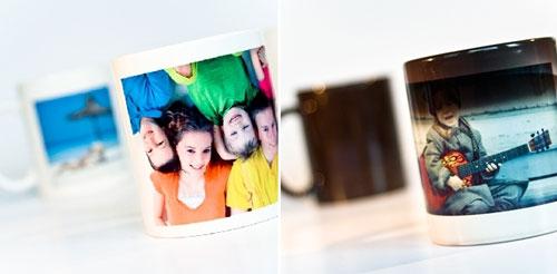 Mug personnalisé 9.95€, et mug magiques 15€